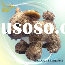 Plush Dog Stuffed Toys Dog Soft Toys Brown Dog