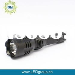 Rotate rechargeable high power Aluminum flashlight