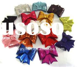 Sequin bows YL02105 IN STOCK