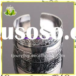 Simple designer alloy bangle,costume jewelry wholesale