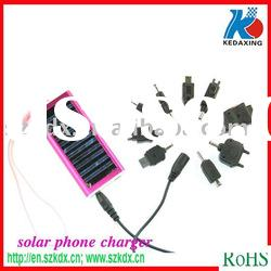 Solar emergency mobile phone charger for digital products