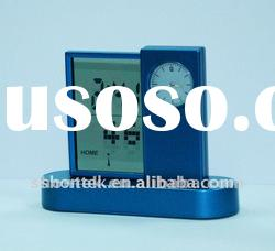 TABLE ALARM CLOCK WITH LCD DISPLAY