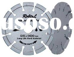 Tuck point small diamond blade for long life removinf hard material---GECJ