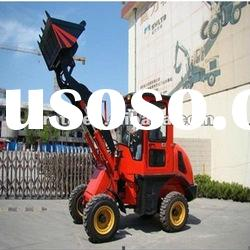 UP612 1.2ton mini front loader with CE