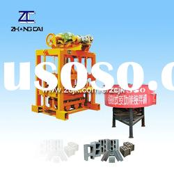 ZCJK QTJ4-40II Small Scale Manual Concrete Block Making Machine