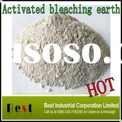 activated white clay bentonite for filtrating oil