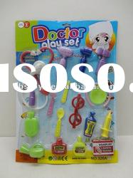 cheap plastic kids doctor play set / toy doctor set / mini doctor set