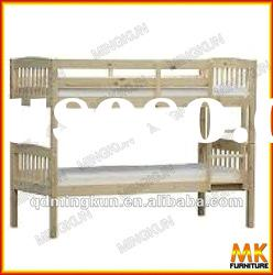 children wooden bunk bed in furniture