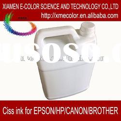 colorful ciss refill ink for offset printing ink