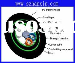direct buried double armored optical fiber cable GYTS53