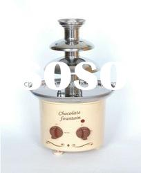 double chocolate fountain/party chocolate fountain/electric chocolate fountain(001)