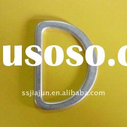 fashion D ring/metal D ring/ring/ring with logo