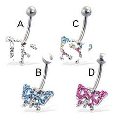 fashion belly ring/navel piercing ring/body piercing jewelry