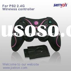 for PS2 built-in battery 2.4GHz Wireless Pads/Joystick/Controller(JT-0111001C )-game accessory