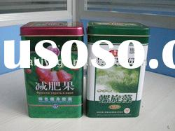 health food tin can;biscuit Tin;food tin can;Health Care Medicines Tin;health food tin box