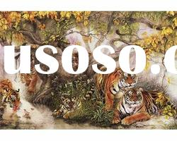 home decoration tiger 3d animal pictures
