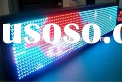 indoor P4.75/P7.62 RGY dot matrix dual color led display sign