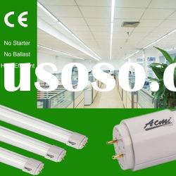 industrial fluorescent T8 energy saving lighting tube