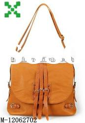 ladies brown leather messenger bag,2012 best-selling shoulder bags