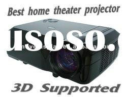 led projector best home theater projector 1080p 3d low price for promotion!!!