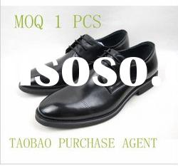 man leather shoes buying agent from taobao dropship