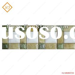 natural stone mosaic borderfree mosaic tile pattern,cheap mosaic tiles