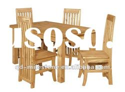 original solid wood dining table and chairs dining set