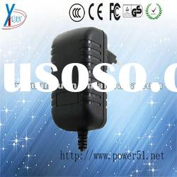 output 12V1000mA mobile phone travel charger with CE,FCC,RoHS