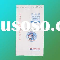 pinch bottom airsickness bag
