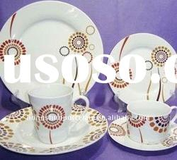 porcelain dinnerware/dinner ware/ceramic dinnerware set/vajilla 20pcs
