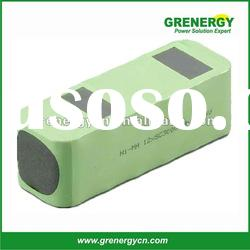 rechargeable OEM NI-MH SC 12S1P 14.4V 3000mah battery pack