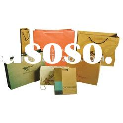 shopping bag Paper gift Bag luxury beautiful paper bag