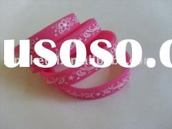 silicone wristband,silicone bracelet at factory price