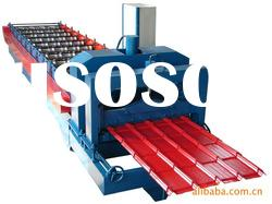 trapezoidal glazed step tile roll forming machine/glazed tile roll forming machine for sale