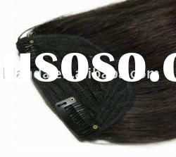 100% human hair Clip in Fringe Extension
