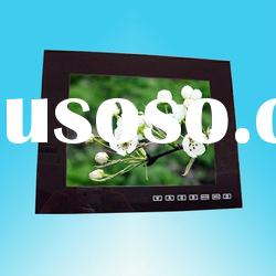 12.1 inch digital photo frame with touch button