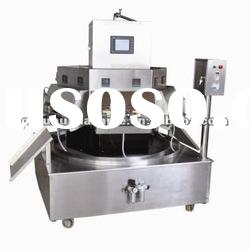 12 nozzles rotary fruit juice filling sealing machine