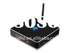 1920*1080P full HD smart internet TV Box, built -in-wifi TV box with antenna