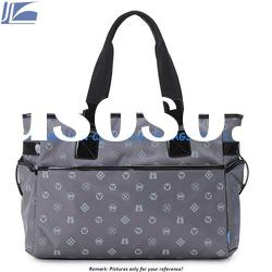 2012 Fashion Nylon Tote Bag With Zipper Closure JL-TOTE-003