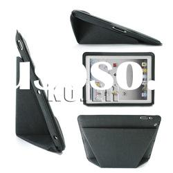 2012 Innovative Folding Leather Case for The New iPad