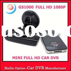 2012 New Arrival Full HD 1080P Video Recorder with GPS Logger and G-SENSOR GS1000