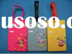 2012 New design plastic luggage tag