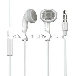 2012 Newest earphone for iPhone 4S with remote and Mic and Super Sound Good quality