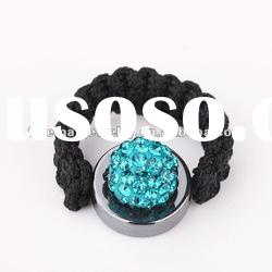 2012 cheapest wholesale Shamballa crystal ring FBR013