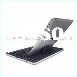 2012 hot-selling bluetooth wireless keyboard with aluminum case for ipad3/ipad2/iphone from factory
