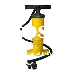 2*2000cc Double Action Hand Pump & Plastic Inflate Airbed Pump