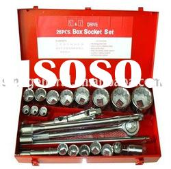 "3/4"" 1"" drive 26pcs socket set socket wrench set"