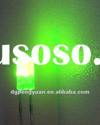 5MM yellow green oval led/gravestone LED Diode astigmatism LED bulb be diffused