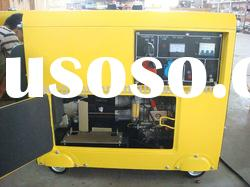 5.5KW 60Hz Single Phase Small Soundproof Portable Diesel Generator Set
