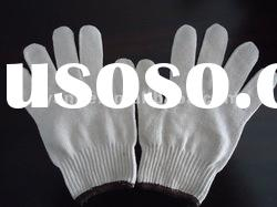 7 guage and 10 guage cotton knitted gloves/china cotton gloves